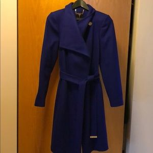 Ted Baker wool Trench Coat